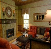 Living Room at Rosehave Inn, Hunter Mountain, NY